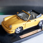 ANSON  1:18 scale PORSCHE 911 CARRERA 4 CABRIOLET car Die-cast Model @SOLD@